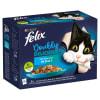 Felix Doubly Delicious Adult Wet Cat Food - Fish Selection in Jelly