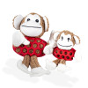 Kokoba Funky Monkey Soft Plush Dog Toy