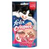 Felix Crispies Adult Cat Treats - Salmon & Trout