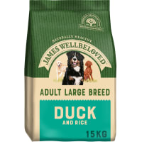James Wellbeloved Large Adult Dry Dog Food - Duck & Rice