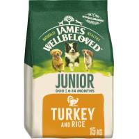 James Wellbeloved Dog Junior Turkey & Rice