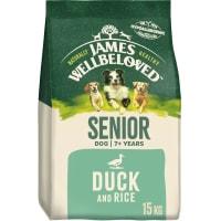 James Wellbeloved Large Senior Adult Dry Dog Food - Duck & Rice