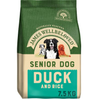 James Wellbeloved Senior Adult Dry Dog Food - Duck & Rice