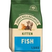 James Wellbeloved Kitten Food Fish