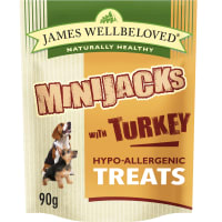 James Wellbeloved Minijacks Hypo-Allergenic Dog Treats - Turkey