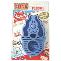 Kong Zoom Groom for Dog in Blue