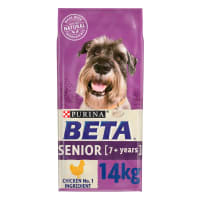 BETA Senior Dry Dog Food with Chicken & Rice 14kg
