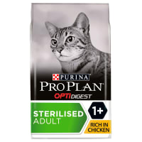 Purina Pro Plan Optidigest Sterilised Adult Dy Cat Food - Chicken & Rice