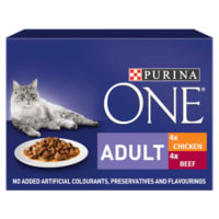 Purina ONE Adult Mini Fillets in Gravy
