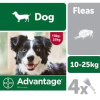 Advantage 250 for Dogs 10-25kg - 4 pipettes