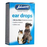 Johnsons Ear Drops for Dog & Cat