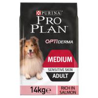 Purina Pro Plan Medium Adult Dog Sensitive Skin Salmon