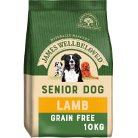 James Wellbeloved Grain Free Senior Dry Dog Food - Lamb & Vegetables