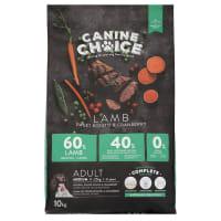 Canine Choice Grain Free Medium Adult Dry Dog Food - Lamb