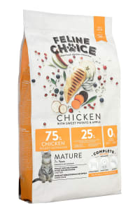 Feline Choice Complete Mature Dry Cat Food - Chicken
