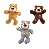 KONG Wildknots Bear Plush Dog Toy