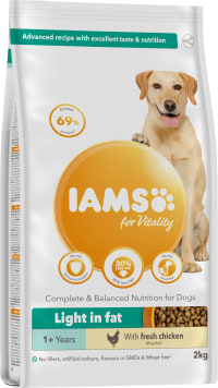 Iams Vitality Adult Light in Fat Dry Dog Food - Chicken
