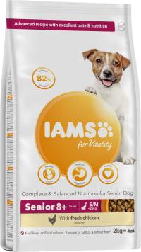 Iams Vitality Senior Small/Medium Breed Dry Dog Food - Chicken