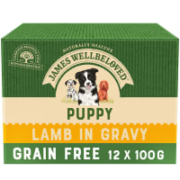 James Wellbeloved Grain Free Puppy Lamb Pouch
