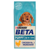 BETA Puppy Dry Dog Food Chicken 2kg