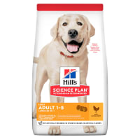 Hill's Science Plan Light Large Adult 1-5 Dry Dog Food - Chicken