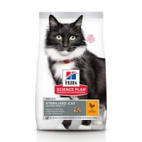 Hill's Science Plan Mature Adult 7+ Sterilised Cat Dry Cat Food Chicken
