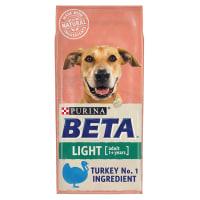 BETA Light Adult Dry Dog Food - Turkey