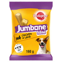 Pedigree Jumbone Mini Chicken & Lamb 4 Sticks