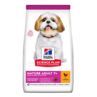 Hill's Science Plan Small & Mini Mature Adult 7+ Dry Dog Food - Chicken