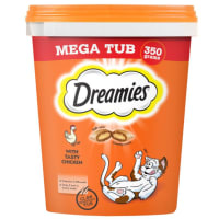 Dreamies Cat Treats Mega Tub - Chicken