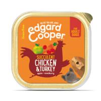 Edgard & Cooper Luscious Grain Free Adult Wet Dog Food Cup - Bio Organic Turkey