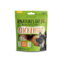 Natures Deli Wrapped Rawhide Donut Adult Dog Treats - Chicken