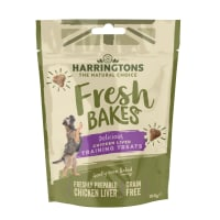 Harringtons Fresh Bakes Dog Training Treats - Chicken Liver