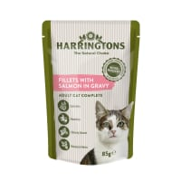 Harringtons Salmon in Gravy Wet Cat Food
