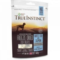 True Instinct Freeze Dried Treat White Fish & Salmon Adult Dog