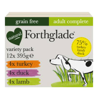 Forthglade Complete Grain Free Adult Wet Dog Food - Variety Pack