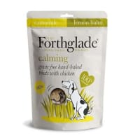 Forthglade Grain Free Baked Calming Treats with Chicken, Chamomile & Lemon Balm
