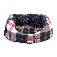 FatFace Penguin Check Deluxe Slumber Bed