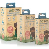 Beco Mint scented degradable poop bags