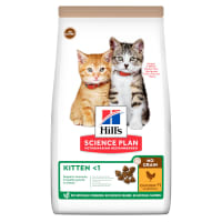 Hill's Science Plan No Grain Kitten <1 Dry Cat Food - Chicken
