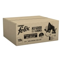 Felix As Good As It Looks Cat Food Meat And Fish 120x100g