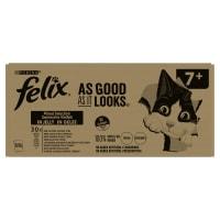 Felix As Good As It Looks 7+ Cat Food Mixed 120x100g