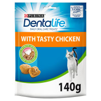 Purina Dentalife Daily Oral Care Adult Cat Treats - Chicken