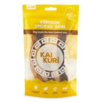 Kai Kuri Air-Dried Smoked Venison Shank Skin Dog Treat