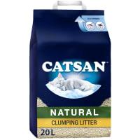 Catsan Natural Biodegradable Clumping Cat Litter