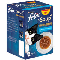 Felix Soup Adult Wet Cat Food - Fish Selection