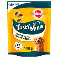Pedigree Tasty Minis Cheesy Nibbles Adult Dog Treats - Cheese & Beef