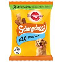 Pedigree Schmackos Adult Dog Treats - Multi Mix Fish Variety