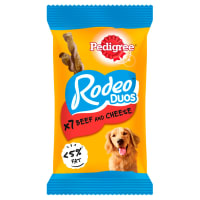 Pedigree Rodeo Duos Adult Dog Treats - Beef & Cheese