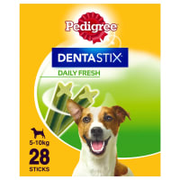 Pedigree Dentastix Fresh Daily Adult Small Dog Dental Treats